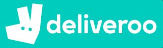 Logo grande Deliveroo